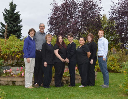 Dental team that provides dental sealants