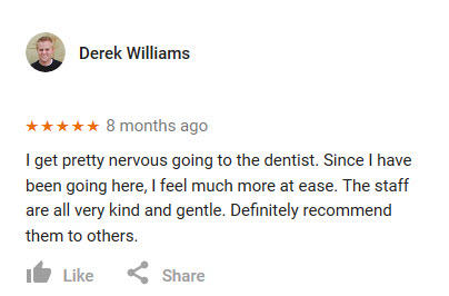 Review from Derek Williams
