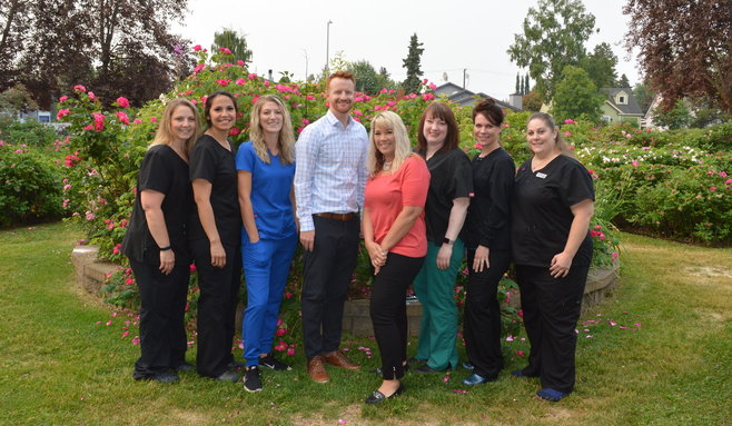 our entire dental team